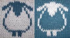 Varios Esquema jacquard para tejer | Manualidades