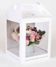 Photo of Flowers By Ivona - New York, NY, United States. Our custom designed packaging will make your gift memorable