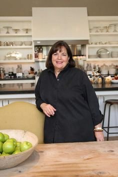 The Barefoot Contessa, Ina Garten, named in the TIME 100 most influential people in 2015. Love her. She is GWU alumna and was a Vietnam era military spouse.