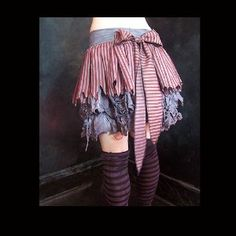 wearydreary rag dolly skirt steampunk pirate lolita zombie ragdoll circus