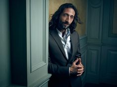 Adrien Brody at the #VFOscarParty. Photo: Mark Seliger