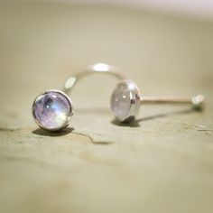 £11 Hey, I found this really awesome Etsy listing at https://www.etsy.com/uk/listing/62137412/just-a-rainbow-moonstone-nose-stud-4mm