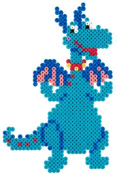 Stuffy - Disney Doc McStuffins Hama perler beads - 7945 - HAMA