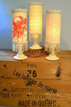 Les Minis  85.00$ ch. Pillar Candles, Germany, How To Make, Minis, Deutsch, Candles