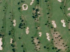 19 Breathtaking Patterns Found on Earth's Surface, Using Google | Quinta da Ria Golf Course, Algarve, Portugal.  Google Earth  | WIRED.com