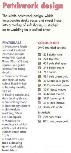 Cross-stitch Patchwork Design, part 5.. the color chart ...   Gallery.ru / Фото #125 - 164 Quilts Cross Stitch - joobee