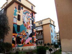 #Roma Murales a Tormarancia Ph. @VaniaDelli