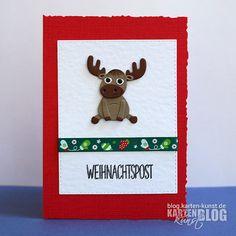 Karten-Kunst » Tierische Weihnachtspost
