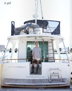 I want to own a house boat and travel all over the water with it