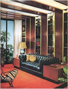 "1960s ""Bachelor's Pad"" Living Room 