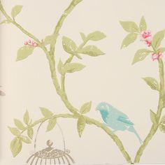 Birdcage Walk Wallpaper - NCW3770-02