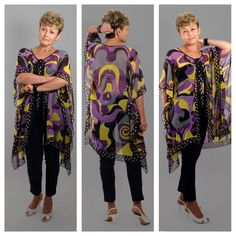 A personal favorite from my Etsy shop https://www.etsy.com/listing/561747395/beach-cape-of-an-oversize-caftan-summer