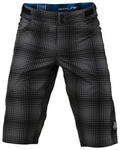 Men's Cycling Shorts - Troy Lee Designs Skyline Shorts  Mens Plaid Gray 36 *** See this great product.