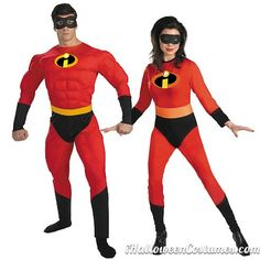 Mr and Mrs Incredible costumes - Halloween Costumes 2013