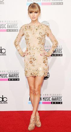 Taylor at the AMAs 2012