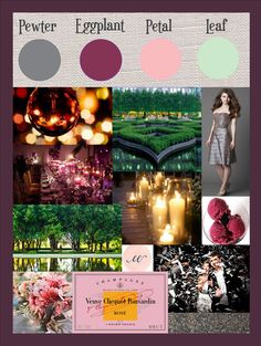 Elegant Possible Wedding Colors For March