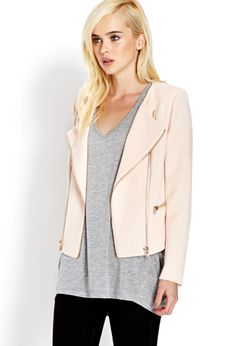 Future Femme Moto Jacket | FOREVER21 Mad for moto #MotoJacket #MustHave #Cute