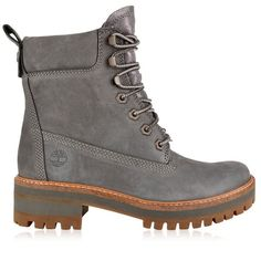 Timberland Courmayeur Valley Boots (3.059.635 IDR) ❤ liked on Polyvore  featuring shoes, boots, grey, leather shoes, timberland boots, timberland  shoes, ... c77c6f2deb