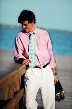 make it a bow-tie and that outfit would be perfect!