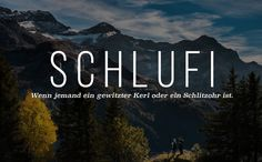 17 Schwizerdüt insults that we urgently need in Germany The post 17 wonderful swearwords that all confuse outside of Switzerland appeared first on Woman Casual - Life Quotes German Grammar, German Words, Pretty Words, Beautiful Words, Baby Quotes, Life Quotes, Quotes Quotes, Germany Language, Funny Note
