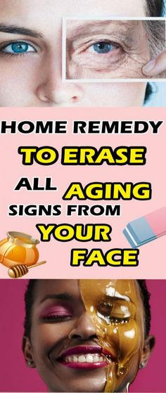 Erase All Aging Signs From Your Face-Home Remedy! Health Remedies, Home Remedies, Natural Remedies, Herbal Remedies, Face Home, Vitamin E Capsules, Younger Looking Skin, Aging Process, Aloe Vera Gel