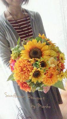 Flower Story 花*ルグラン: ひまわりのブーケ