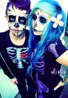 #makeup #skull this is adorible