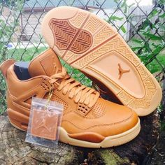"First Look: Air Jordan 4 Retro Pinnacle ""Wheat"" - EU Kicks: Sneaker Magazine"