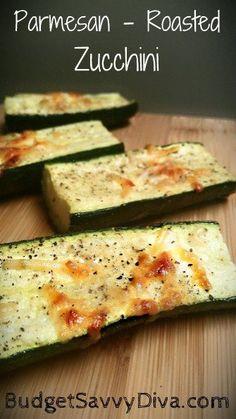 Parmesan-roasted zucchini