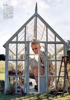 """Garden Party"": Tim Walker for Vogue Nippon"
