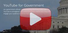 Google launches YouTube for Government | #GCN | #google #youtube #government #socialmedia #localgov #stategovt #federalgovt #communication #citizenengagement
