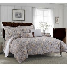 Shop for Tribeca Living Fiji Printed Cotton Paisley 5-piece Duvet Cover Set. Get free shipping at Overstock.com - Your Online Fashion Bedding Outlet Store! Get 5% in rewards with Club O!