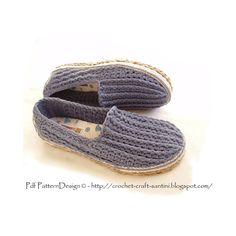 Ravelry: Tailored CORD-SOLES - NEW Method for how to Turn home slippers into street shoes pattern by Ingunn Santini Ravelry, Foundation Single Crochet, Shoe Pattern, Knitted Slippers, Crochet Shoes, Crochet Patterns, Crochet Ideas, How To Look Better, Loafers