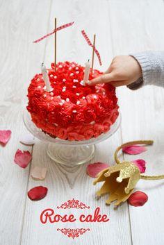 Rose Cake Battle food #29