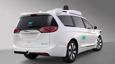 The first self-driving minivan will debut this year. Learn about the autonomous Chrysler Pacifica Hybrid! #Chrysler #Pacifica #Autonomous #SelfDriving  #Future #Minivan #Automotive  #Tech