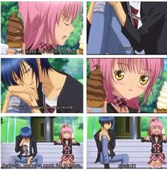 """Shugo chara wish he say that to me"""" Agreed not to mention he tricks us so easily..."""