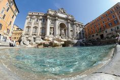 Trevi Fountain - Featured on RueBaRue, is as famous for its beauty as for its coin-toss tradition.
