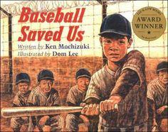 Baseball Saved  Us by Ken Mochizuki - grade 5 guided reading books