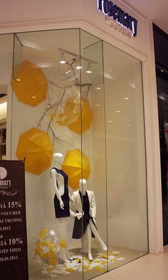 ROSEMARY FALL/WINTER 2012 WINDOW DISPLAY by MA NG., via Flickr