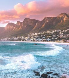 Cape Town South Africa Photography by by awesome. Places To Travel, Travel Destinations, Places To Visit, Cape Town South Africa, South Africa Beach, Destination Voyage, Travel Aesthetic, Africa Travel, Dream Vacations