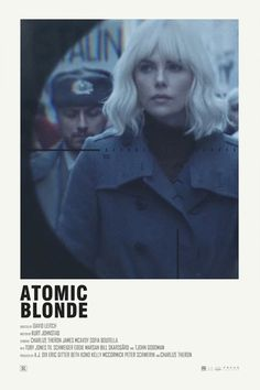 """Atomic Blonde"" starring Charlize Theron and James McAvoy Iconic Movie Posters, Minimal Movie Posters, Cinema Posters, Movie Poster Art, Iconic Movies, Film Posters, Minimal Poster, Poster Wall, Atomic Blonde Aesthetic"