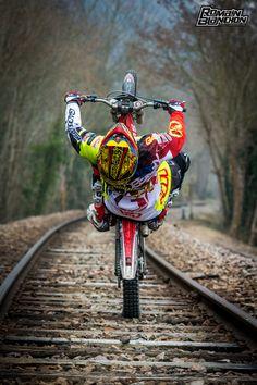 Riding the tracks Wheel Train by Romain Blanchon Follow us to http://racdaynews.com