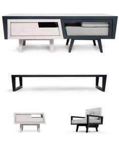 Coffee-table by Daniel Pearlman.