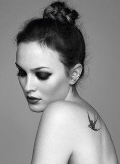 chignon + chanel tatoo