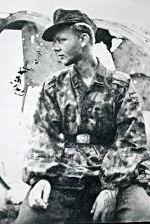"""SS-Unterscharführer Sten Eriksson 11.SS-Freiwilligen-Panzergrenadier-Division """"Nordland"""""""