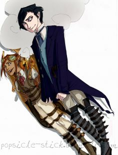 Because Artemis Fowl steampunk AU is a thing that needs to happen.