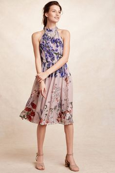 Petaline Midi Dress - anthropologie.com