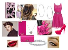 gowing to a party by meriem-asma on Polyvore featuring mode, Little Mistress, Casadei, Gucci, Michael Kors, Rina Limor, Kate Spade and Justin Bieber