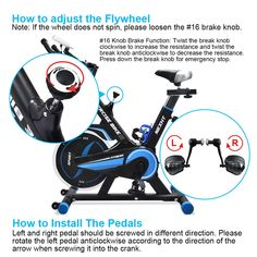 NexHT Fitness Exercise Cycle Bike 89103A Indoor Workout Cycling Bike w/LCD Monitorand Heart Pulse SensorsMax User Weight:280lbsFull Adjustable Health Sport Trainer Stationary Bicycle Blue * Figure out more concerning the great item at the image link. (This is an affiliate link). Exercise Cycle, Indoor Workout, Sports Trainers, Cycling Workout, Cycling Bikes, Cardio, Image Link, Heart
