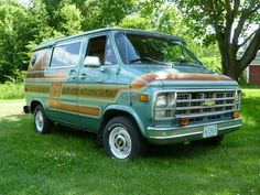 Chevrolet : G20 Van--so similar to the one I grew up with...Loved it. Ours was light brown,,